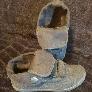 Women size 6 Grey Blowfish Casual Sneakers